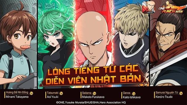 """One Punch Man: The Strongest hứa hẹn """"đánh gục"""" game thủ Việt bởi những thành tựu nổi bật của một thương hiệu đình đám - Ảnh 5."""