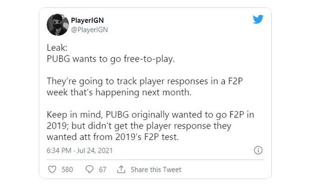 PUBG sắp trở thành game miễn phí 100%? - Ảnh 2.