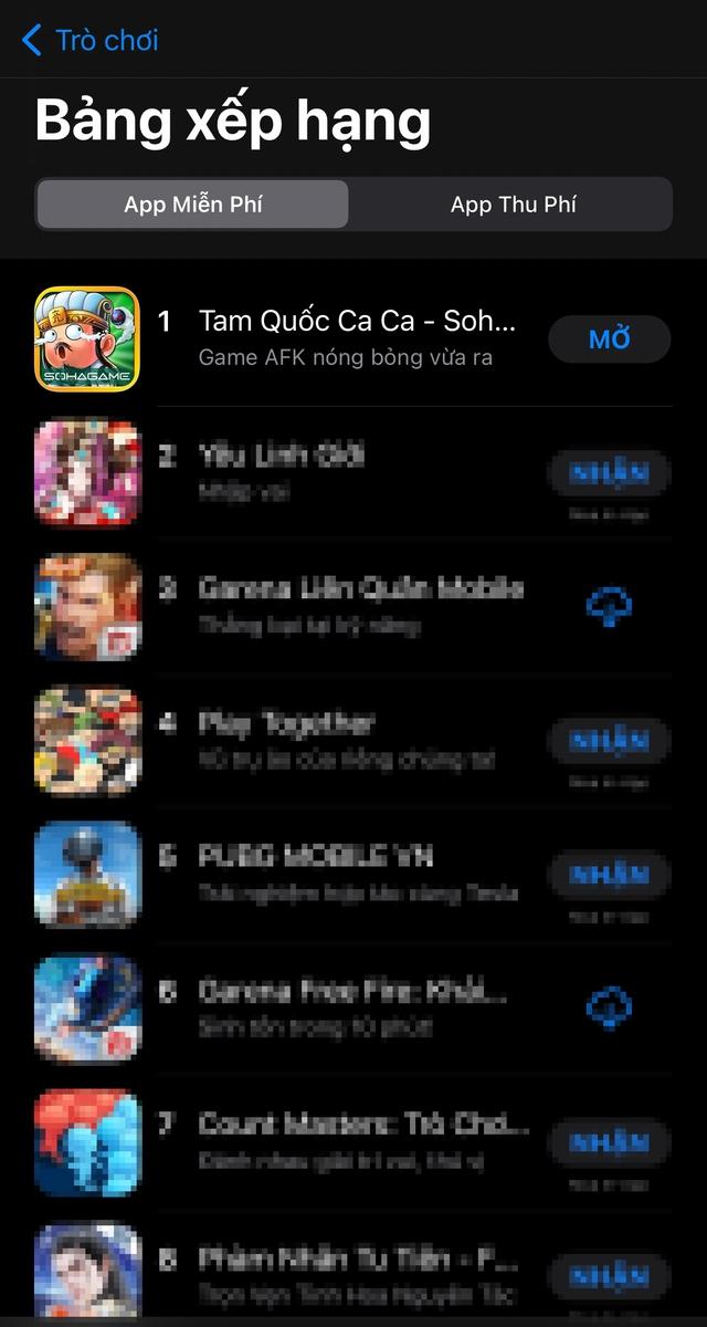 Tam Quốc Ca Ca bùng nổ ngày ra mắt, vượt mặt loạt bom tấn leo TOP 1 App Store chỉ sau 1 ngày mở cửa! - Ảnh 4.