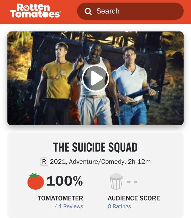 The Suicide Squad mở điểm với 100% cà chua tươi, bom tấn hành động đáng xem nhất năm đây rồi - Ảnh 1.