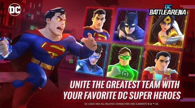 Thử sức chiến đấu với các siêu anh hùng DC trên tựa game dành riêng cho người chơi hệ Android - Ảnh 2.