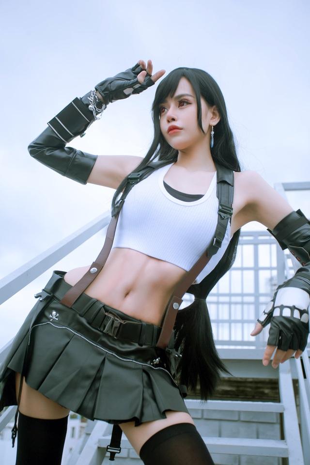 Nóng mắt ngắm loạt ảnh cosplay nàng Tifa trong Final Fantasy với thần thái đầy mời gọi - Ảnh 6.