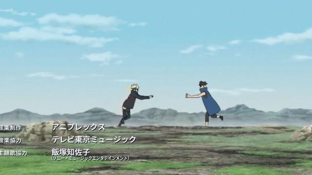 Hình dạng thật của Isshiki Otsutsuki và Baryon Mode của Naruto xuất hiện trong Boruto Opening 9 khiến các fan phấn khích tột độ - Ảnh 2.