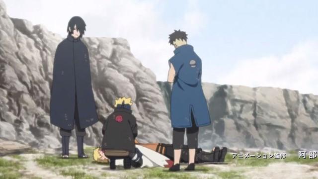 Hình dạng thật của Isshiki Otsutsuki và Baryon Mode của Naruto xuất hiện trong Boruto Opening 9 khiến các fan phấn khích tột độ - Ảnh 6.