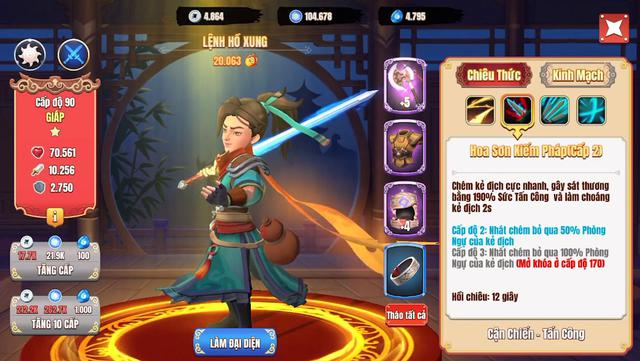 Đội hình siêu tốc vượt ải server mới cho dân cày chay Tân Minh Chủ: Nạp 0 đồng vẫn vượt Hoa Sơn chương 10 - Ảnh 5.