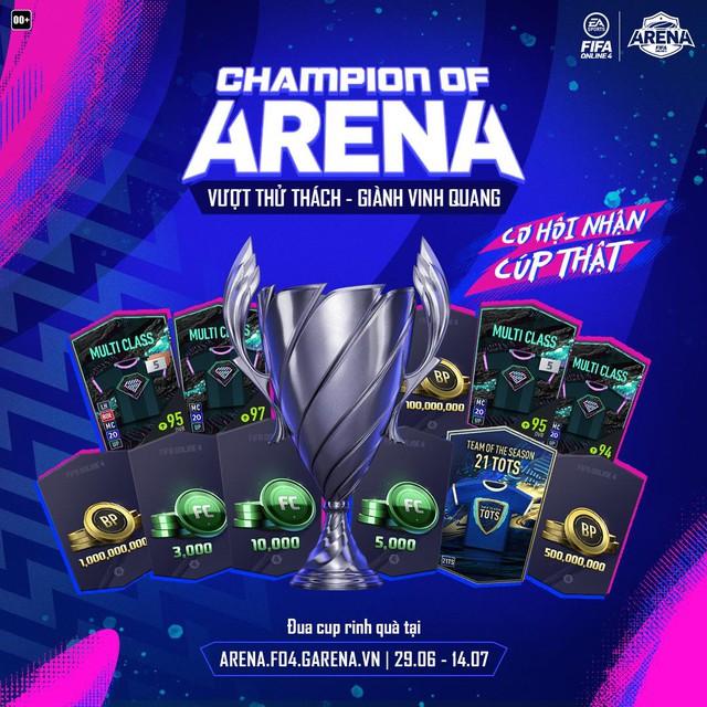 Champion of Arena: Đấu đường danh giá nhất của FIFA Online 4 - Ảnh 1.