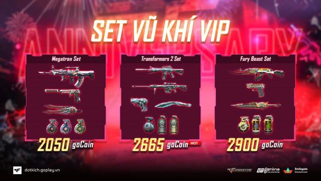 Kỷ niệm 1 năm về nhà mới, Đột Kích giảm giá khủng kho hàng VIP - Ảnh 2.