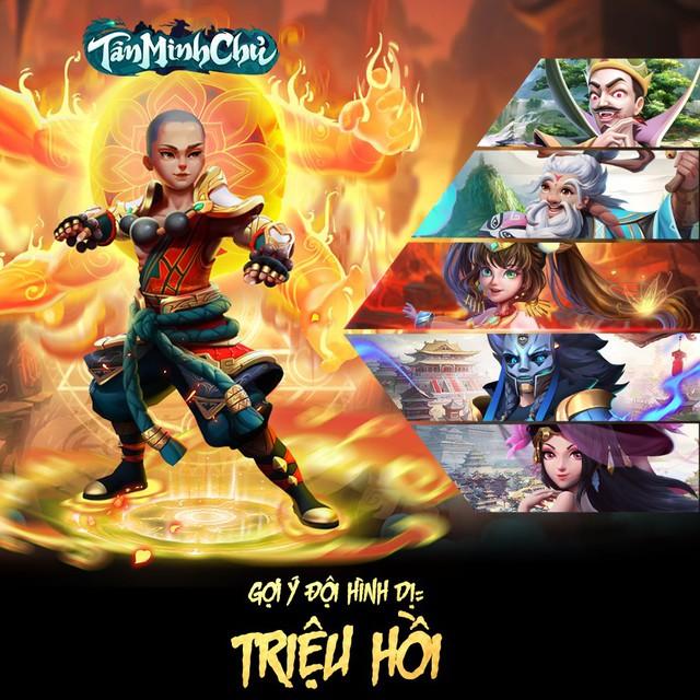 Đội hình siêu tốc vượt ải server mới cho dân cày chay Tân Minh Chủ: Nạp 0 đồng vẫn vượt Hoa Sơn chương 10 - Ảnh 2.