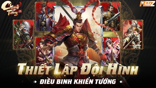 Chiến Tướng Tam Quốc - Tựa game chuẩn chiến thuật thế hệ mới hé lộ thời điểm ra mắt  - Ảnh 5.