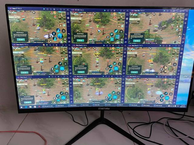 """Game thủ VLTK 1 Mobile gây sốc với cấu hình PC đời Tống """"treo được 10 acc, tạo nên vấn nạn kinh dị của game - Ảnh 2."""