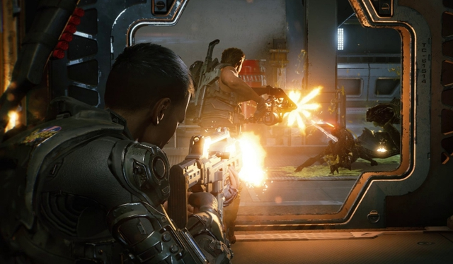 """Xuất hiện game """"Left 4 Dead"""" ngoài không gian, có thể co-op để bắn Aliens - Ảnh 2."""