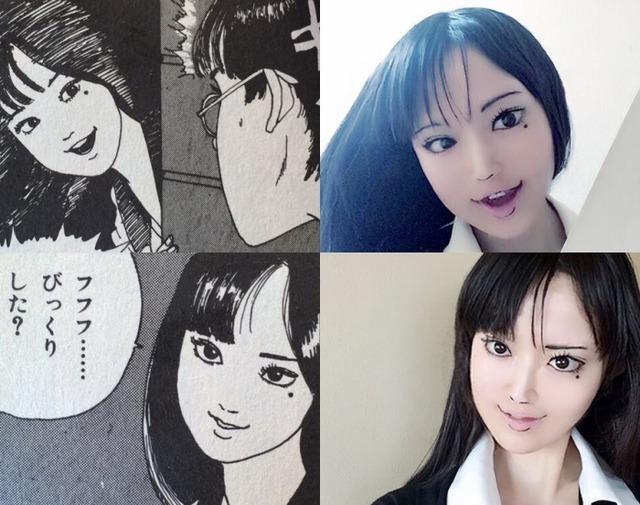 Màn cosplay có tâm nhất quả đất: Thay đổi thành ngàn khuôn mặt kinh dị, dùng photoshop lồng ghép luôn bản thân vào trong truyện tranh - Ảnh 1.