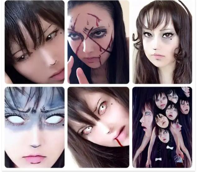 Màn cosplay có tâm nhất quả đất: Thay đổi thành ngàn khuôn mặt kinh dị, dùng photoshop lồng ghép luôn bản thân vào trong truyện tranh - Ảnh 9.