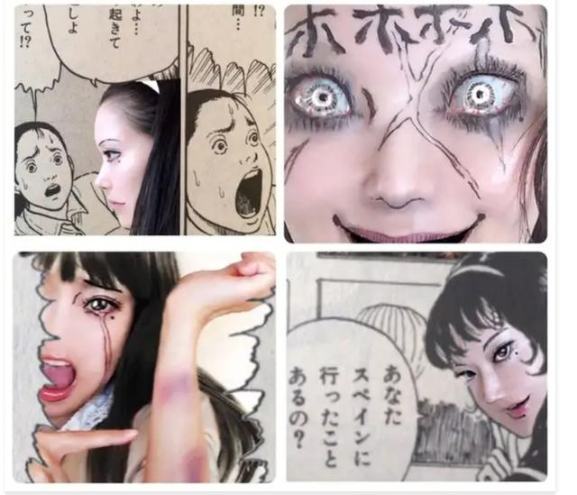Màn cosplay có tâm nhất quả đất: Thay đổi thành ngàn khuôn mặt kinh dị, dùng photoshop lồng ghép luôn bản thân vào trong truyện tranh - Ảnh 10.