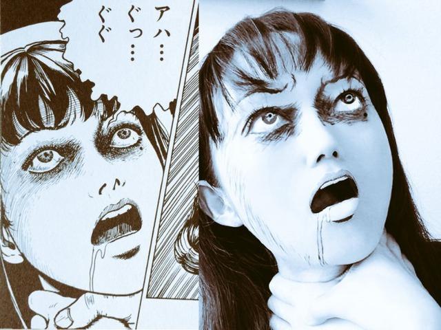Màn cosplay có tâm nhất quả đất: Thay đổi thành ngàn khuôn mặt kinh dị, dùng photoshop lồng ghép luôn bản thân vào trong truyện tranh - Ảnh 3.