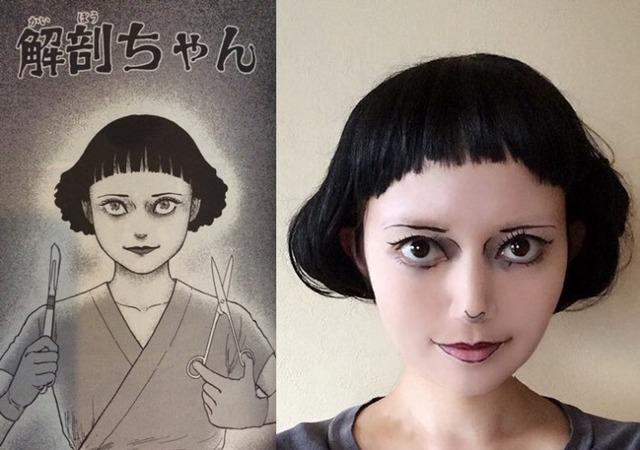 Màn cosplay có tâm nhất quả đất: Thay đổi thành ngàn khuôn mặt kinh dị, dùng photoshop lồng ghép luôn bản thân vào trong truyện tranh - Ảnh 6.
