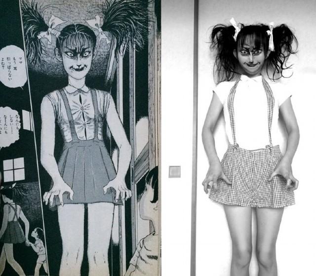Màn cosplay có tâm nhất quả đất: Thay đổi thành ngàn khuôn mặt kinh dị, dùng photoshop lồng ghép luôn bản thân vào trong truyện tranh - Ảnh 11.