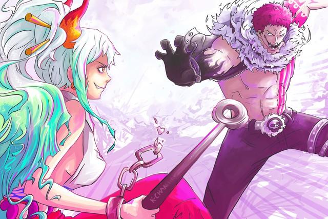 Sức mạnh trái ác quỷ của Yamato được thể hiện, nhiều fan set kèo con gái Kaido đấu với Katakuri - Ảnh 5.