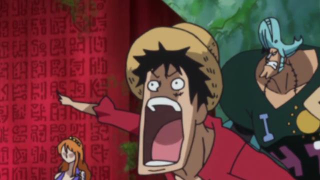 11 khoảnh khắc hài hước khi anime One Piece bất ngờ bị tạm dừng, mặt các nhân vật đơ như tượng sáp - Ảnh 1.