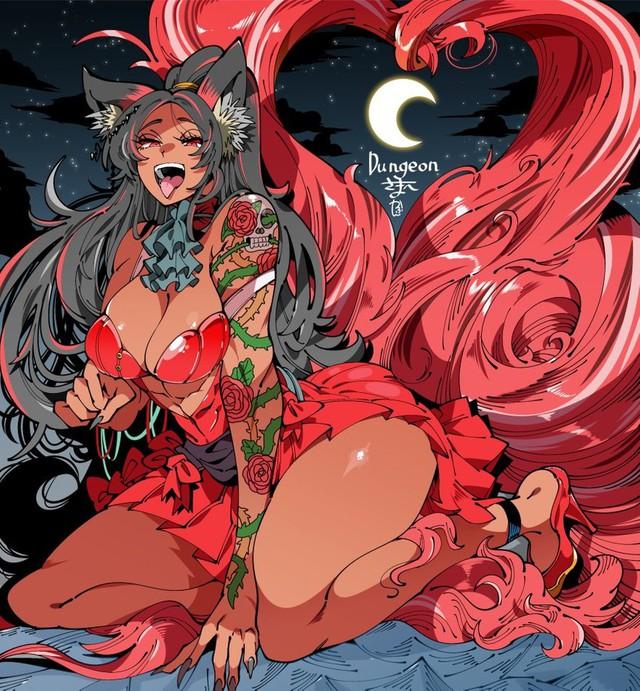 Các fan phát điên với loạt fanart ecchi siêu hấp dẫn của artist người Nhật, càng ngắm càng đã mắt - Ảnh 1.