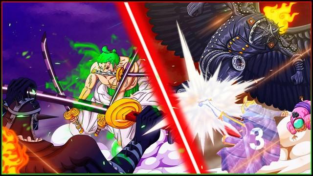One Piece: Có hay không màn kết hợp giữa Sanji và Zoro để hạ gục tam tai dưới trướng Kaido? - Ảnh 3.