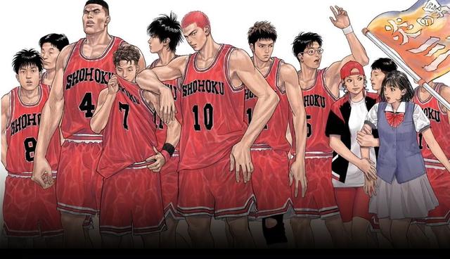 Nhan sắc dàn nhân vật Slam Dunk khi bước ra đời thật, quả tóc đỏ huyền thoại của Sakuragi Hanamichi khiến các fan mê mệt - Ảnh 1.