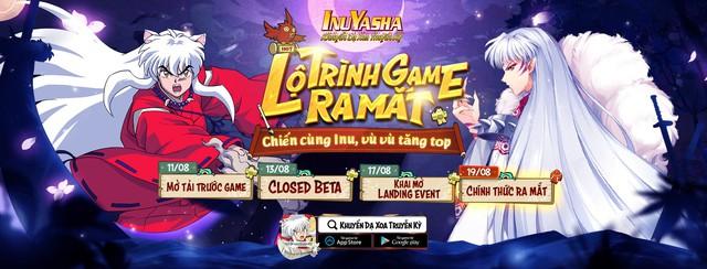 Khuyển Dạ Xoa Truyền Kỳ - IP InuYasha ấn định ngày ra mắt 19/08, đã có thể tải game ngay hôm nay! - Ảnh 2.