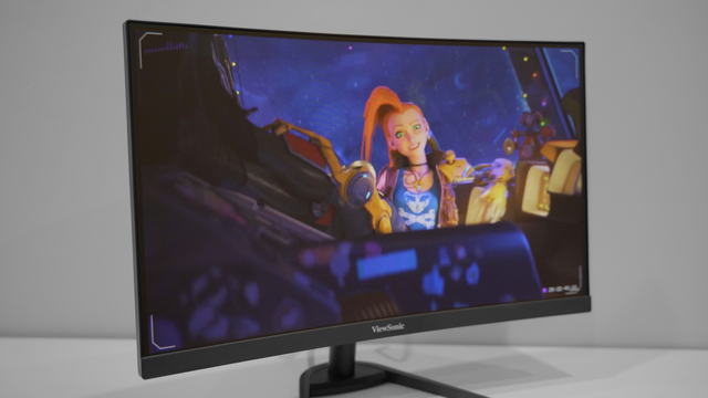 ViewSonic VX2468-PC-MHD: Super smooth 165Hz gaming monitor, affordable price - Photo 5.