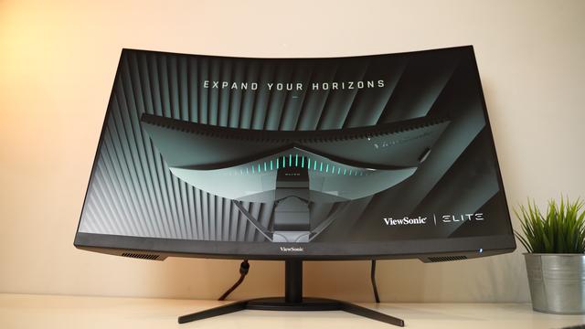 On hand gaming monitor VX3268-2KPC-MHD: Curved, big, super gaming - Photo 1.