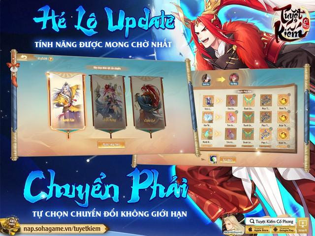 Hồng Hoang Chuyển Kiếp - Update đỉnh chóp của Tuyệt Kiếm Cổ Phong chính thức ra mắt: Chuyển phái tự do, Boss Liên server và 1000 CODE giới hạn - Ảnh 3.