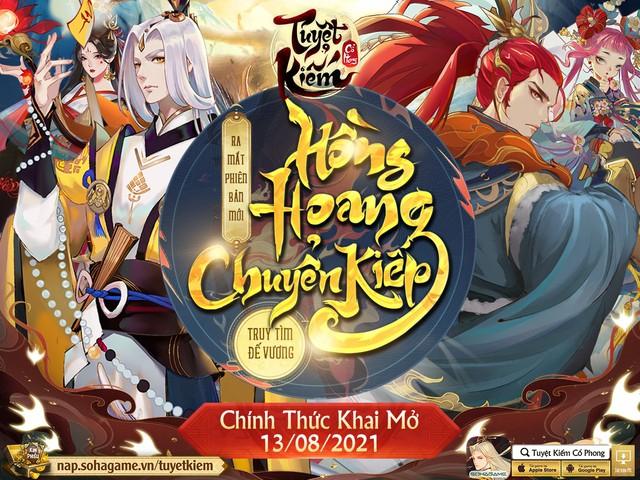 Hồng Hoang Chuyển Kiếp - Update đỉnh chóp của Tuyệt Kiếm Cổ Phong chính thức ra mắt: Chuyển phái tự do, Boss Liên server và 1000 CODE giới hạn - Ảnh 2.