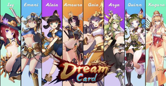 Dream Card, NFT game with smooth waifu - Photo 1.