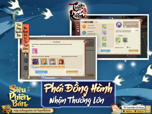 Hồng Hoang Chuyển Kiếp - Update đỉnh chóp của Tuyệt Kiếm Cổ Phong chính thức ra mắt: Chuyển phái tự do, Boss Liên server và 1000 CODE giới hạn - Ảnh 5.