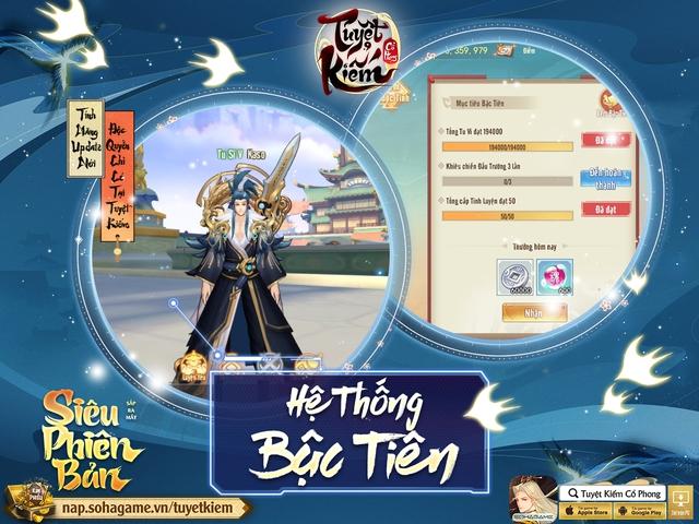 Hồng Hoang Chuyển Kiếp - Update đỉnh chóp của Tuyệt Kiếm Cổ Phong chính thức ra mắt: Chuyển phái tự do, Boss Liên server và 1000 CODE giới hạn - Ảnh 6.