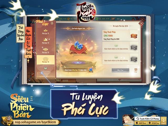 Hồng Hoang Chuyển Kiếp - Update đỉnh chóp của Tuyệt Kiếm Cổ Phong chính thức ra mắt: Chuyển phái tự do, Boss Liên server và 1000 CODE giới hạn - Ảnh 7.