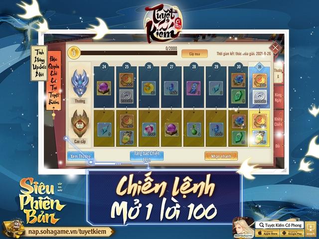 Hồng Hoang Chuyển Kiếp - Update đỉnh chóp của Tuyệt Kiếm Cổ Phong chính thức ra mắt: Chuyển phái tự do, Boss Liên server và 1000 CODE giới hạn - Ảnh 8.