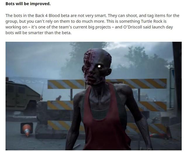 """Vừa mở bản Open Beta lần hai, Back 4 Blood đã bị người chơi chê bai """"game hơi dễ"""", yêu cầu tăng độ khó lên cực hạng - Ảnh 1."""