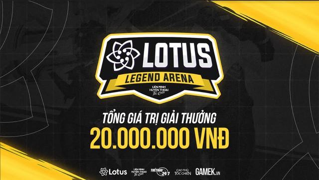 """Lotus Legend Arena Season 1 - """"Siêu giải đấu"""" dành cho cộng đồng Tốc Chiến Việt Nam chính thức mở cổng đăng ký - Ảnh 1."""