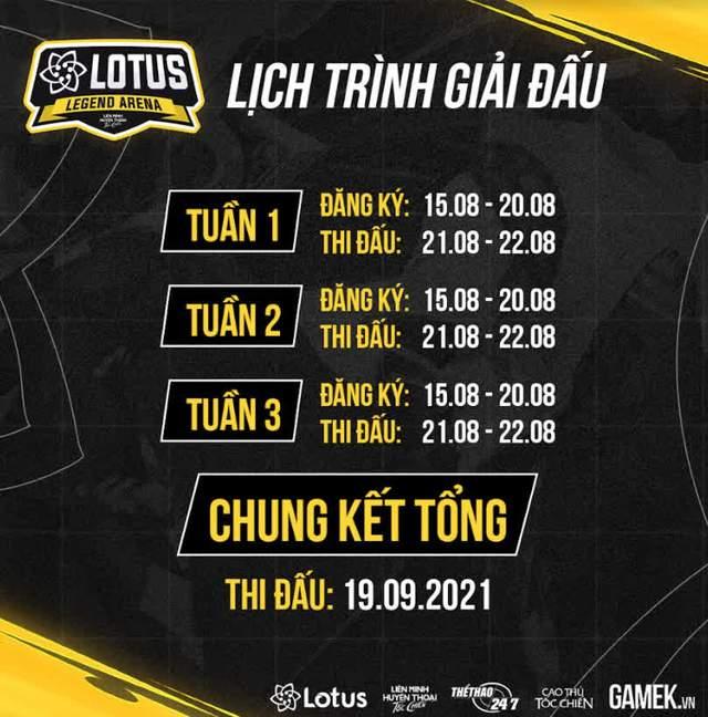 """Lotus Legend Arena Season 1 - """"Siêu giải đấu"""" dành cho cộng đồng Tốc Chiến Việt Nam chính thức mở cổng đăng ký - Ảnh 2."""