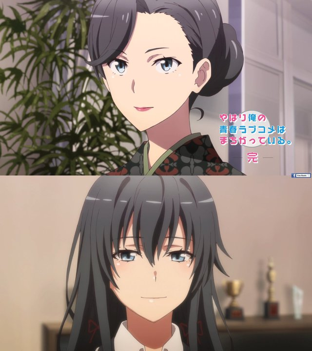 So sánh nhan sắc của các cặp mẹ và con gái trong anime Photo-1-16291043381791125250106