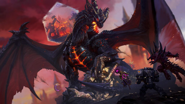 Top 10 most powerful dragons in the gaming world - Photo 5.
