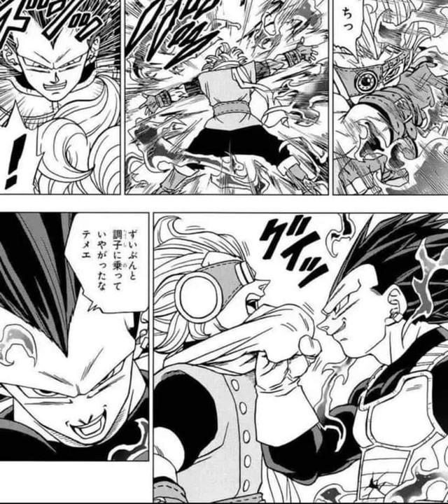 Cập nhật Dragon Ball Super: Hoàng tử Vegeta đá vêu mồm chiến binh mạnh nhất vũ trụ khiến fan phấn khích - Ảnh 2.
