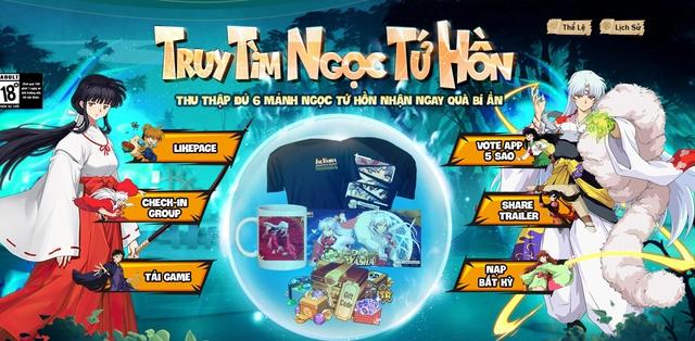 Khuyển Dạ Xoa Truyền Kỳ - IP InuYasha khai mở landing bạc triệu, sẵn sàng cho ngày ra mắt 19/08! - Ảnh 2.