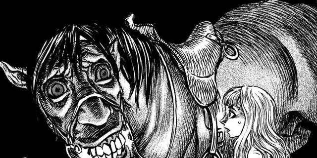 7 bộ manga kinh dị không dành cho người yếu tim Berserk-demon-horse-crazed-16292773177361612743402