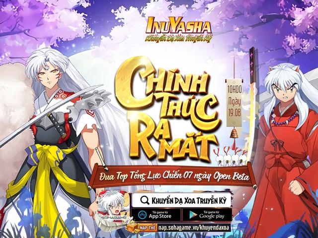 Khuyển Dạ Xoa Truyền Kỳ - IP InuYasha chính thức Open Beta, tặng Giftcode VIP cho game thủ! - Ảnh 1.