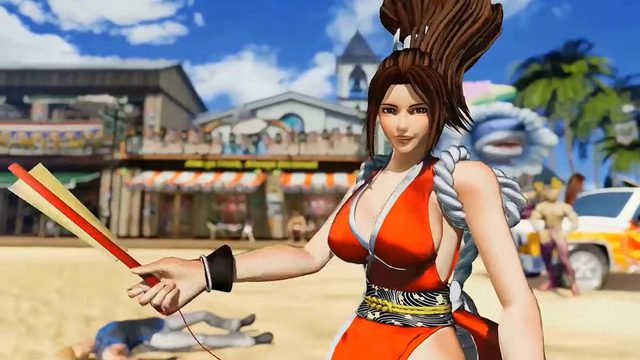Mai Shiranui and cosplay scenes make male gamers excited - Photo 2.