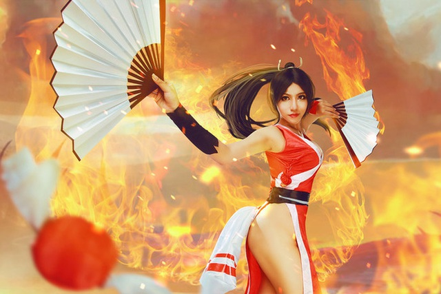 Mai Shiranui and cosplay scenes make male gamers excited - Photo 8.