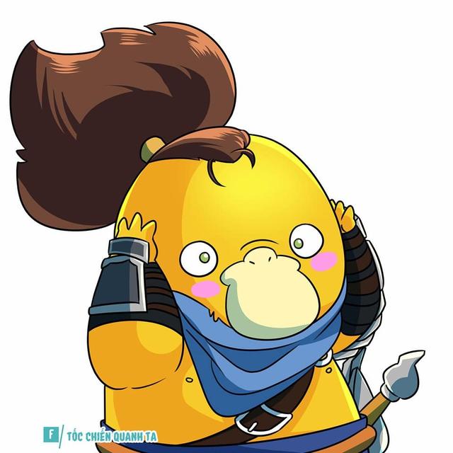 MXH tràn ngập ảnh chế về chú vịt vàng bối rối trong series Pokémon Photo-1-16292728181741195921454