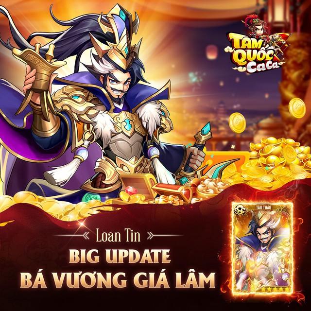 Giftcode đặc biệt Tam Quốc Ca Ca mừng update Photo-1-1629280707016904251770