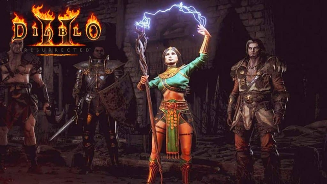 Diablo II: Resurrected releases a free version over the weekend, anyone can play - Photo 1.